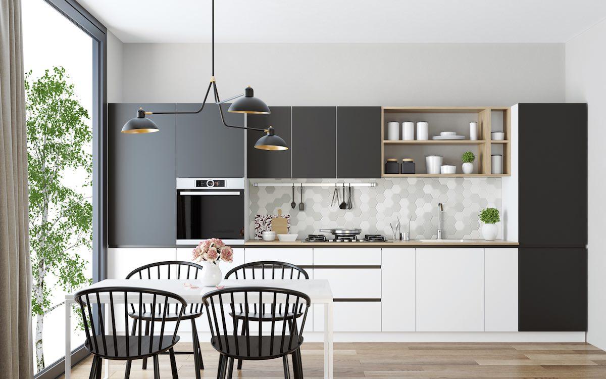 Skandinaavinen keittiö on minimalistinen